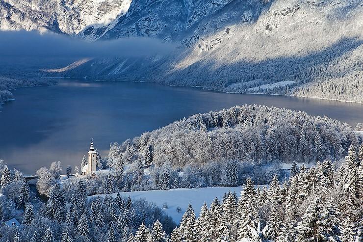 Bohinj, télen