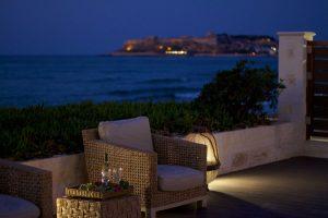 tengerparti szállás, Kréta, Rethymnon