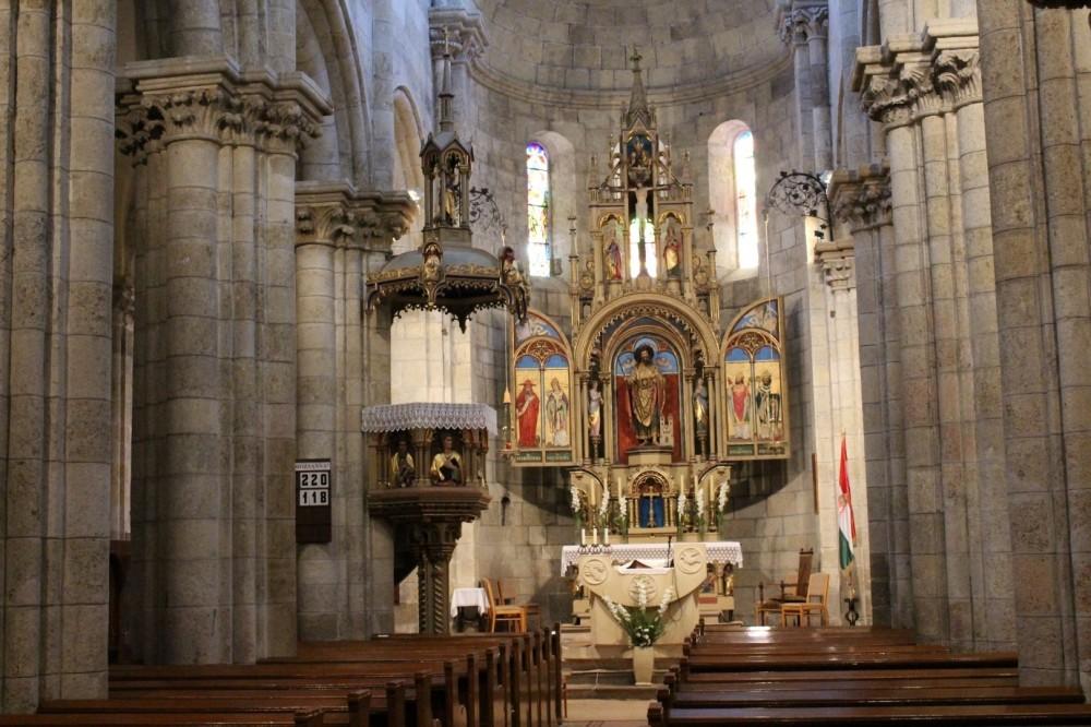 Szent Jakab-templom, Lébény